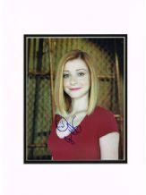 Alyson Hannigan Autograph Signed Photo - Willow